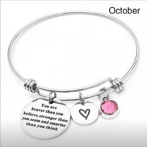 Stronger silver bracelet